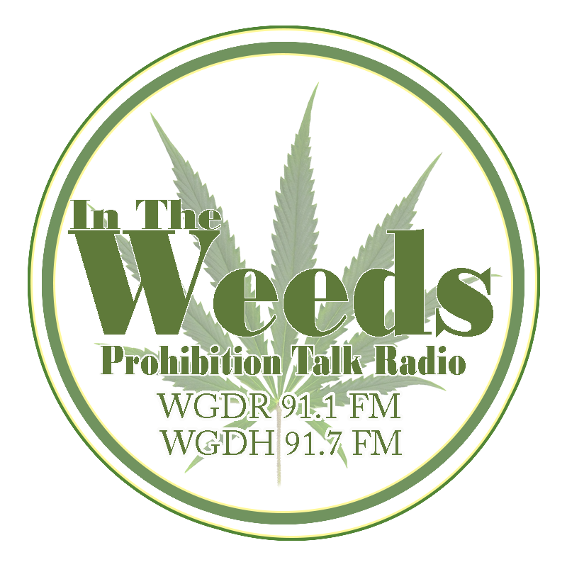 in the weeds prohibition talk radio logo for cryocure